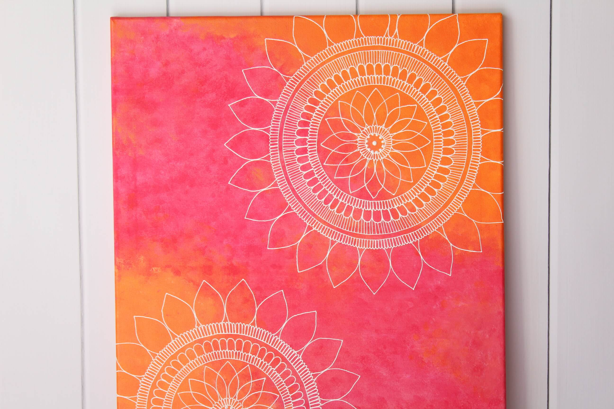 Sunset Mandalas